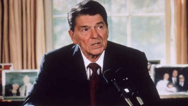Reagan on Libya Air Strikes