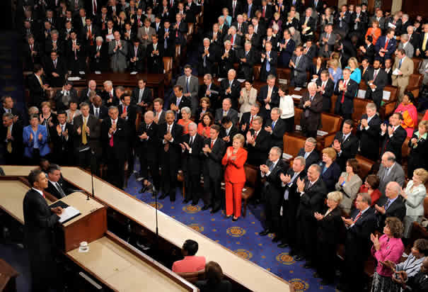 Obama's Joint Session of Congress