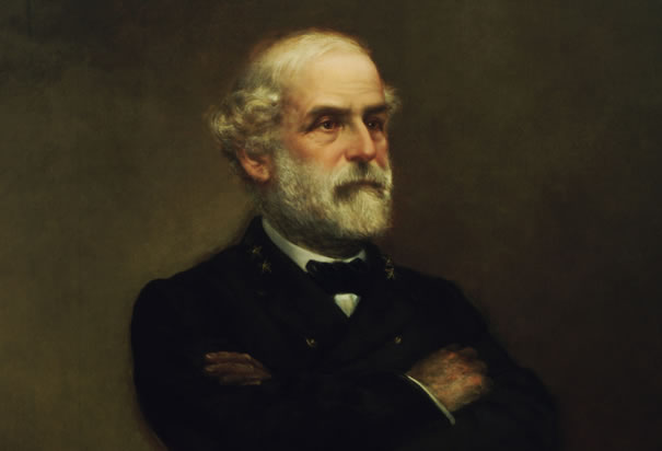 Portrait of Robert E Lee, by John Adams Elder