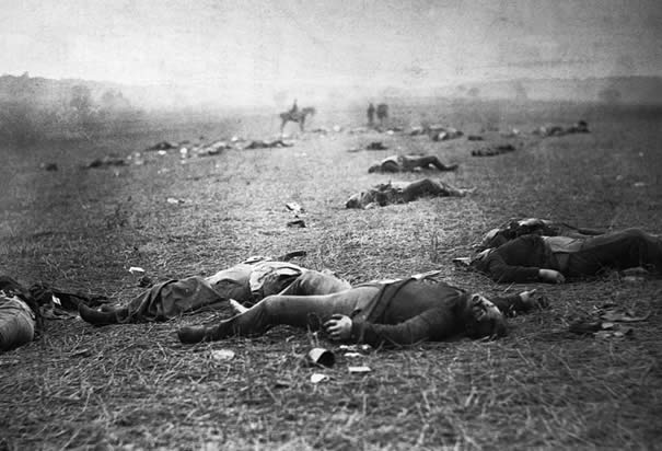 Battlefield Casualties at Gettysburg