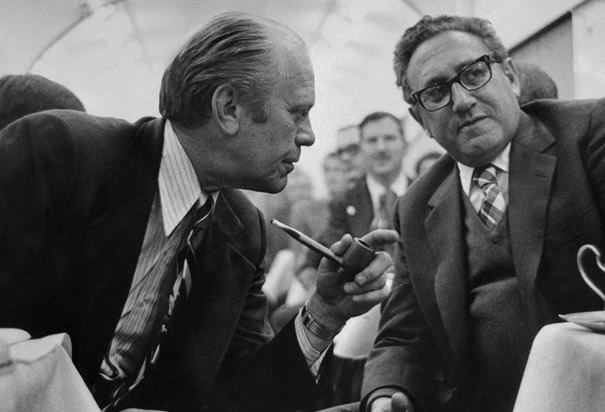 Ford Discusses Salt Treaty With Kissinger