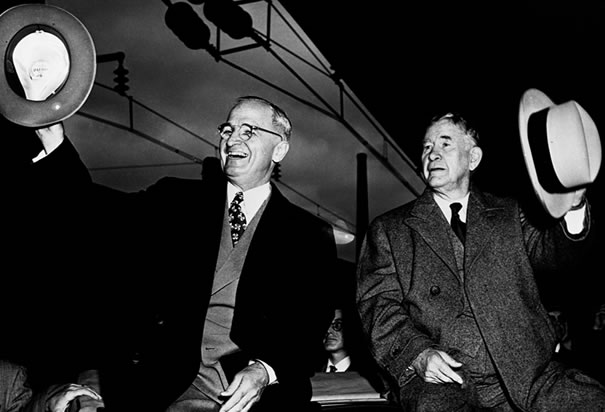 Truman with Vice President Barkley