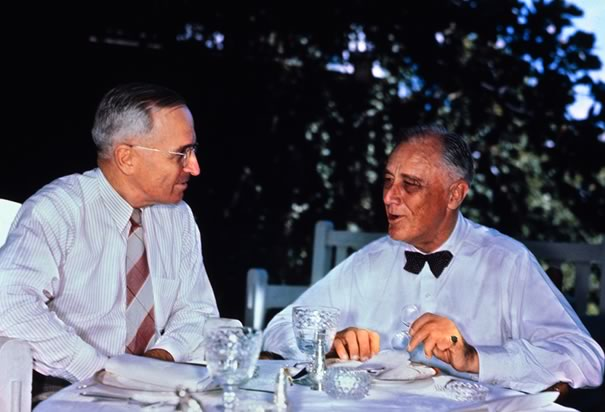 Truman and FDR