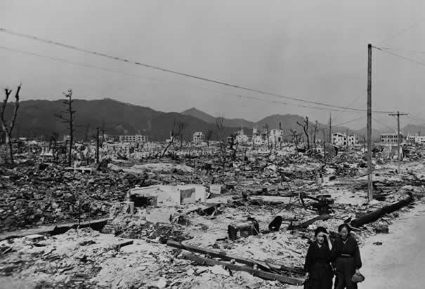 US Drops Atomic Bomb on Hiroshima