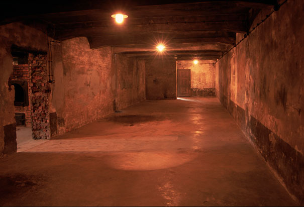 gas chambers in concentration camps. Gas Chamber at Auschwitz