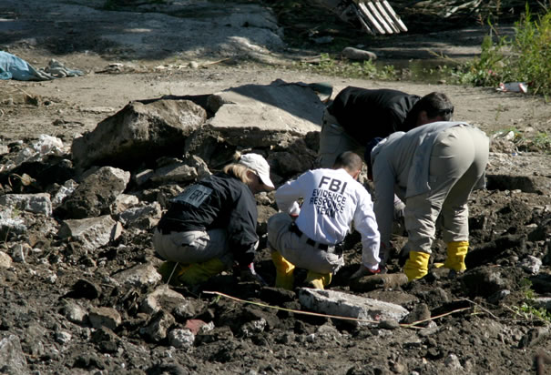 Federal Agents Excavate Suspected Mafia Graveyard