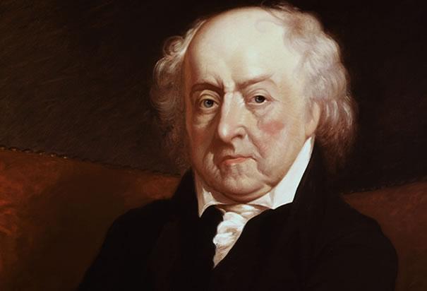 John Adams in 1823