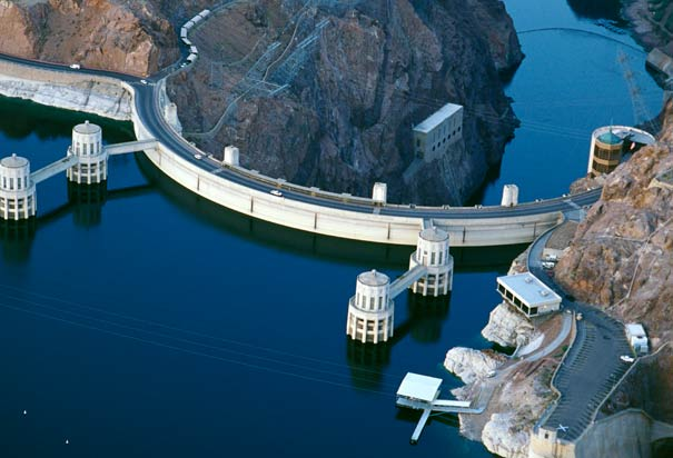 Hoover Dam- Mohave County, Arizona, and Clark County, Nevada, USA
