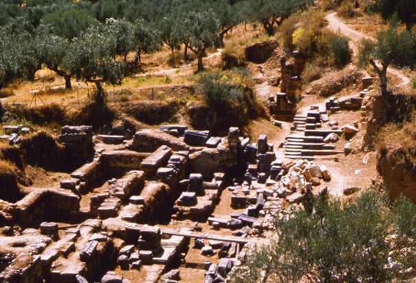 The Ruins of Ancient Sparta