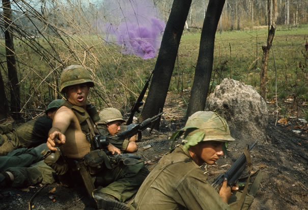 Soldiers Under Fire in Vietnam