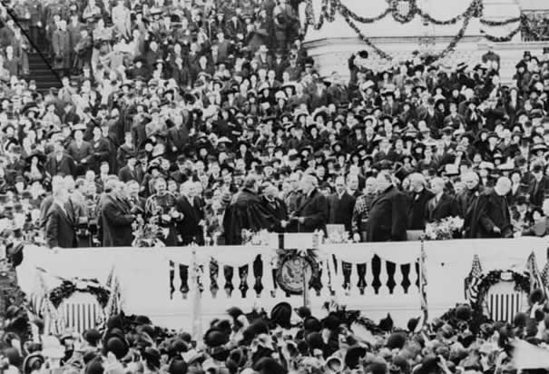 Wilson's First Inauguration