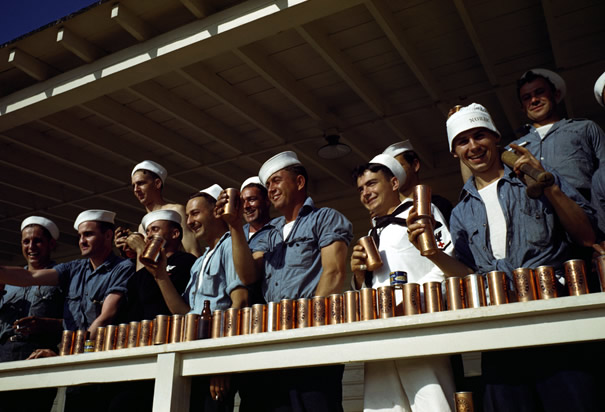 World War II Sailors on R&R