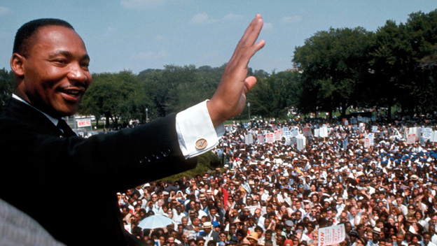 King Leads the March on Washington