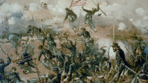 The Union Siege of Vicksburg