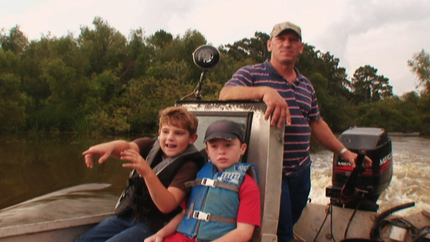 Troy and His Nephews Hit the Swamp