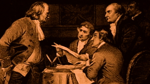 Jefferson Writes the Declaration of Independence