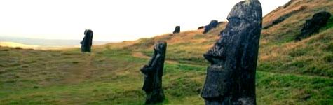 Maoi, giant hunman figures